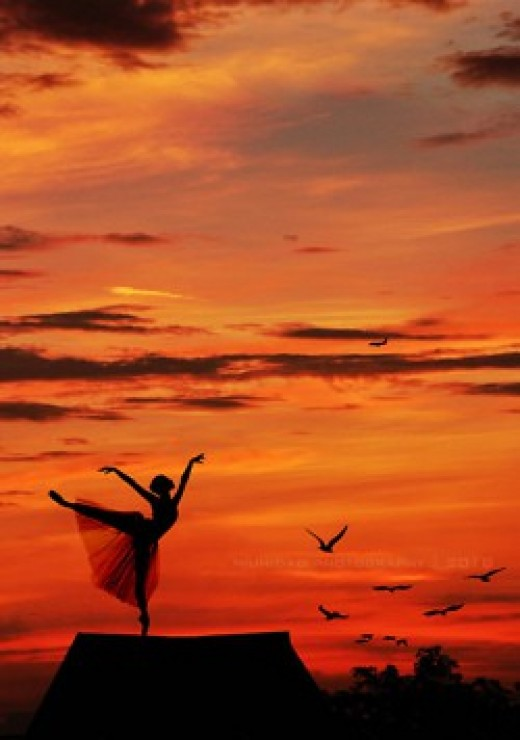To dance with enchanted abandon, find your music. Wanna dance?