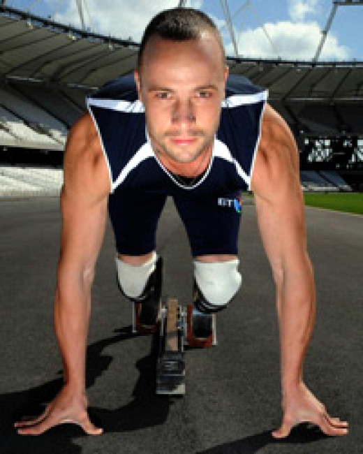 """""""You are not disabled by the disabilities you have, you are able by the abilities you have."""" Oscar Pistorius"""