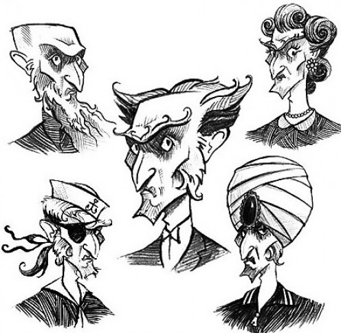 One character with many aliases and faces; one of the many factors that contribute to his fresh and engaging inclusion as a villain within the series.