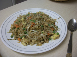 Thai Basil Vegetarian Fried Rice Recipe