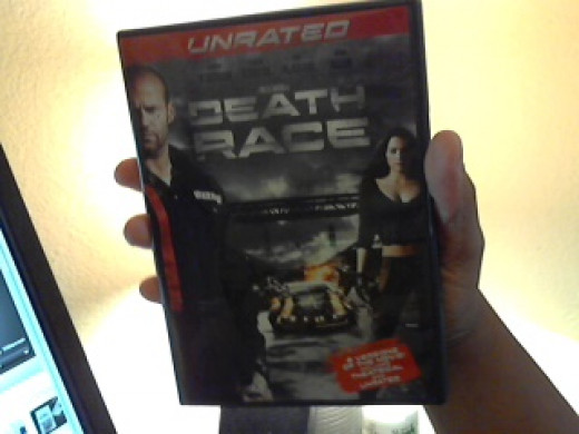 "DVD of ""Death Race"" that I own."