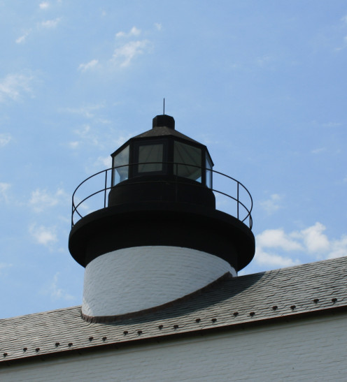 The reconstruction of Blackistone Lighthouse was completed in 2008.