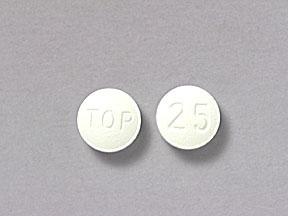 Topamaz pill- 25 mg