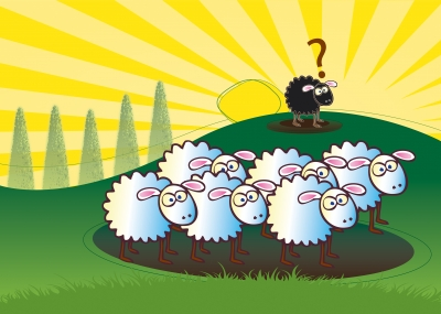In some parts of Britain, the age-old nursery rhyme has now been changed to, 'Baa baa rainbow sheep', so as to avoid offending non-whites.