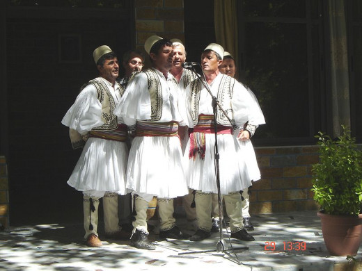 Albanian folk singing group