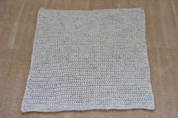 Single Crochet Square