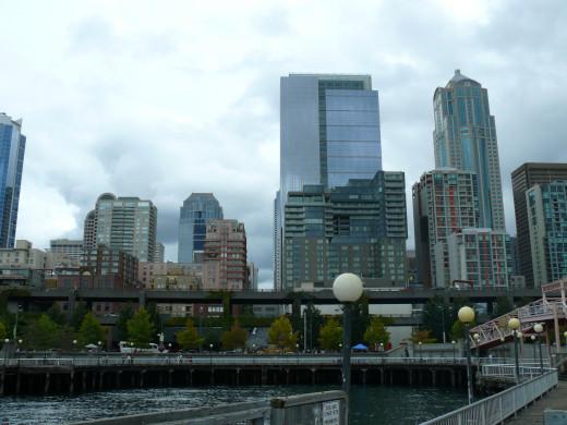 Arriving in Seattle-finally