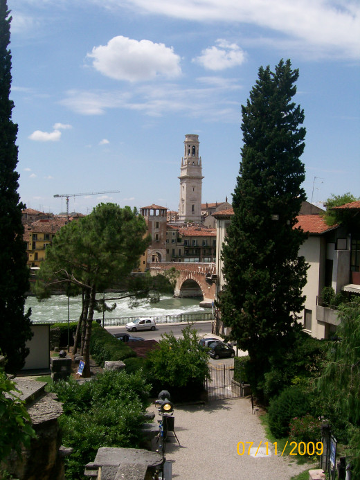 A view overlooking Verona