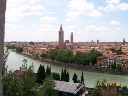Overlooking the city of Love (Verona)
