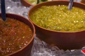 Salsa is healthy and makes a great appetizier