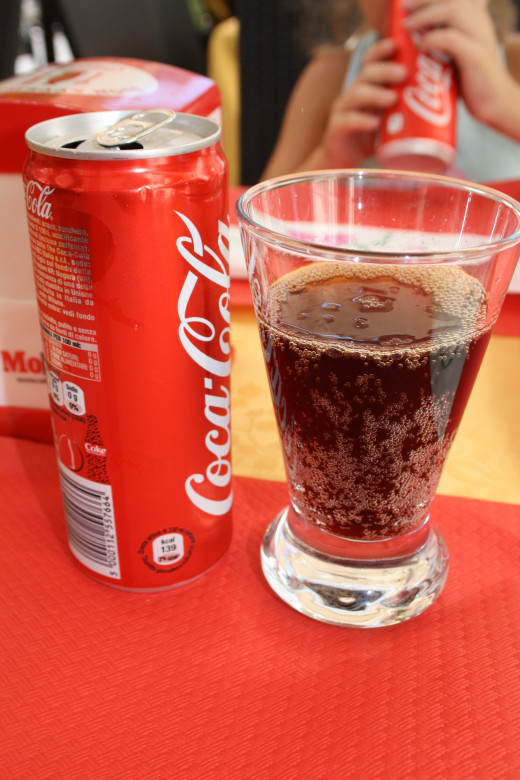 What is lunch without a glass of coke?