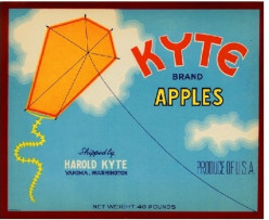 free cross stitch patttern Kyte Apples