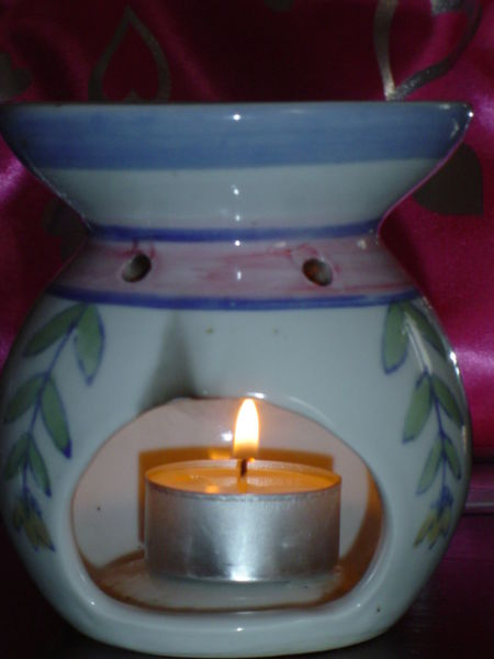 Citronella in an oil burner