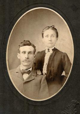 This photo was taken in the mid 1800s.  These people are my great-great grandparents!