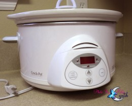 This is exactly the kind of crock pot I own and  is really big.