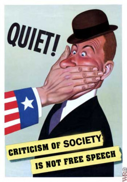 Will we still have freedom on speech by the end of the year in the US?