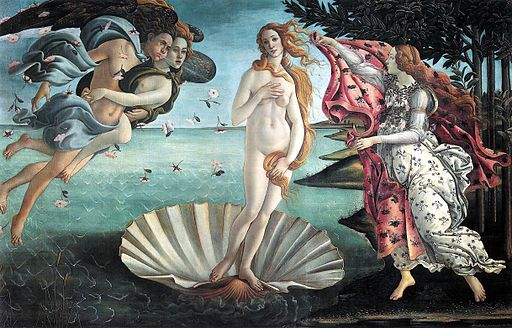 Botticelli: Birth of Venus