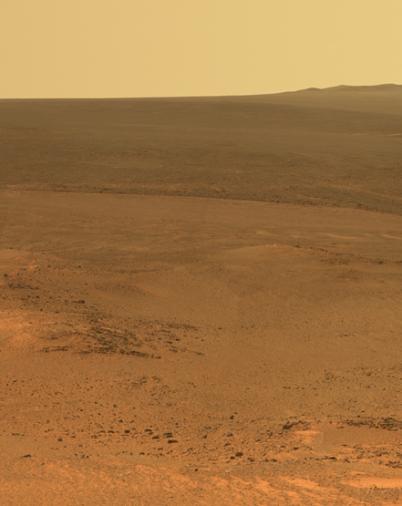 Jan 24, 2012: Eight years after landing on Mars for a three-month mission, the Opportunity Rover pauses for a winter break and sends back snapshots of the Martian surface.