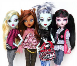 New Monster High Dolls For Late 2012 - Early 2013