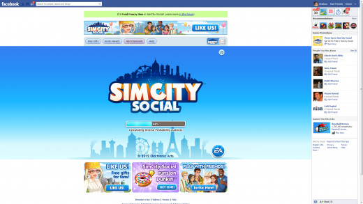 Sim City Social Online