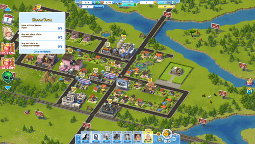 Sim City Social:Goals to achieve to proceed to next chapter