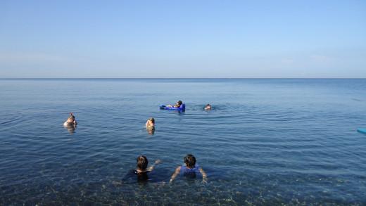 taringting, san jose de buenavista (public beach)