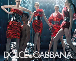 Top Fashion Label Dolce and Gabana Ad