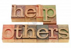 If you help someone in need, do you tell others?