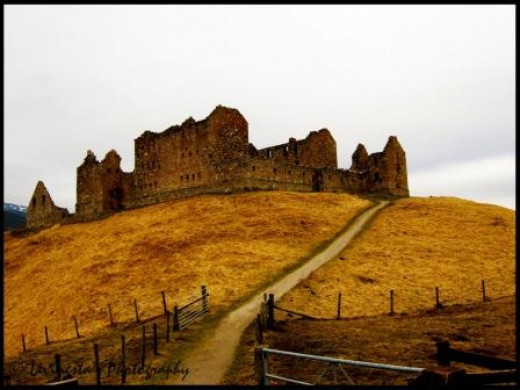 Ruthven Barracks - Scotland
