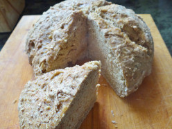 Irish Brown Soda Bread: Wheaten Bread  (Arán Sóide)