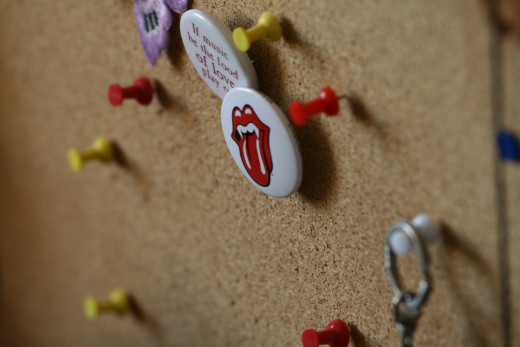 Easily dress up your boring brown corkboard with these fun ideas!