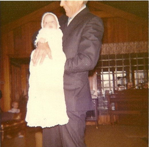 Christening - Sept 24th  1972