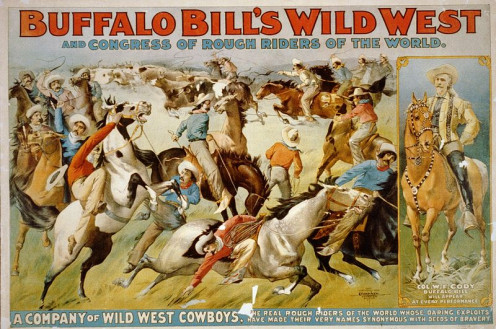 Buffalo Bill's Wild West Show and Congress of Rough Riders of the World, 1899.