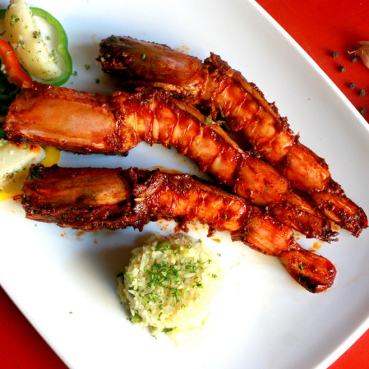 How to prepare 'Coastal Masala Tiger prawn Fry recipes ...