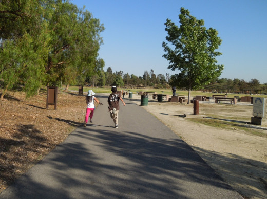 Kids Running at Lake Cunningham Park