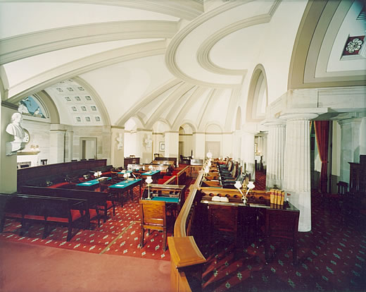 Old Supreme Court Chamber in the United States Capitol.
