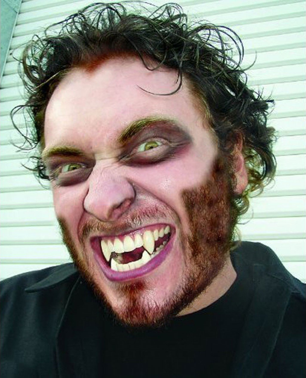 Mens Werewolf Face Paint