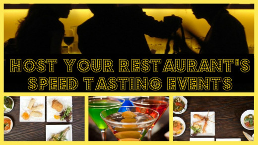 Host Speed Tasting Events, Speed Dating Events, Speed Networking Events