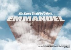 They Shalt Call His Name, Immanuel, God With Us, Not Jesus!