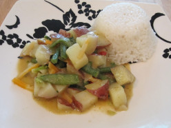 Vegetarian Thai Coconut Curry Recipe