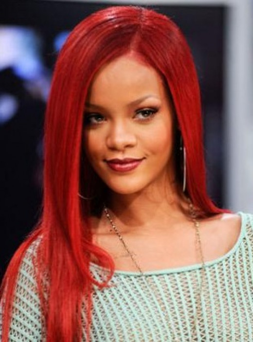 Related Pictures rihanna blonde curly mohawk