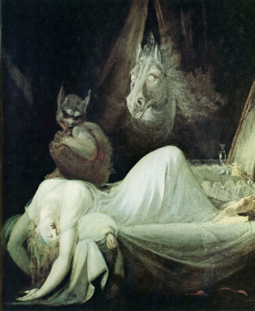 """The Nightmare"" by John Henry Fuseli (CC License)"