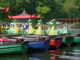 Dabble at being a latter-day Viking on the boating lake in Peasholm Park