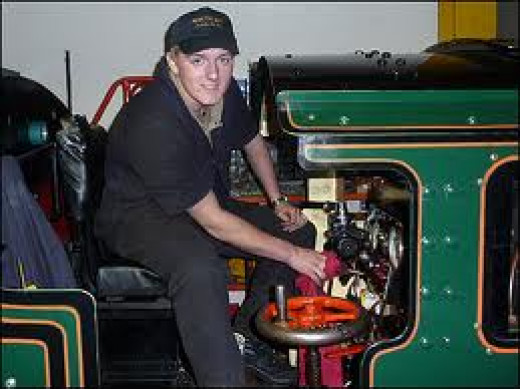 I'll take you there - Steve Johnson in early days as apprentice driver
