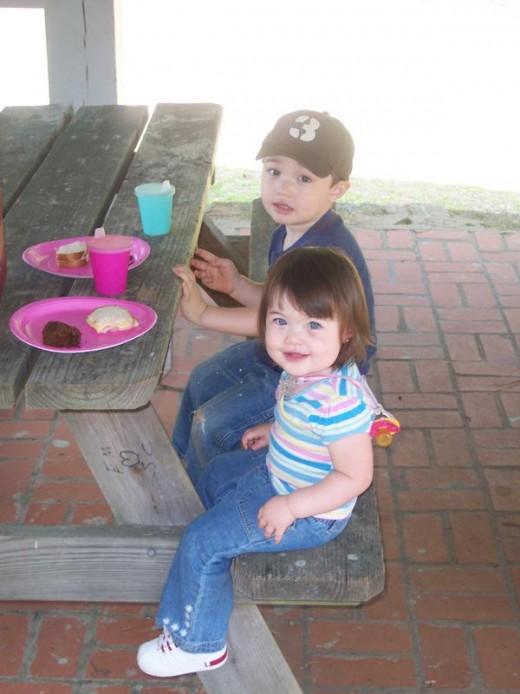 My beautiful kids!