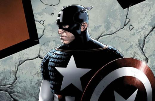 Captain America fan art.