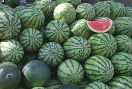 Watermelon health benefits include the ability to strengthen the immune system.