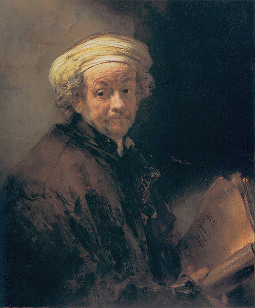 """Rembrandt van Rijn's """"Self-Portrait as St. Paul,"""" was completed in 1661. This work is in the public domain in the United States and those countries with a copyright term of life of the author plus 100 years or less."""