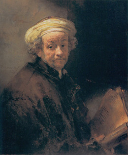 "Rembrandt van Rijn's ""Self-Portrait as St. Paul,"" was completed in 1661. This work is in the public domain in the United States and those countries with a copyright term of life of the author plus 100 years or less."