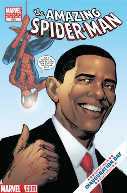 Obama - The Amazing Spiderman